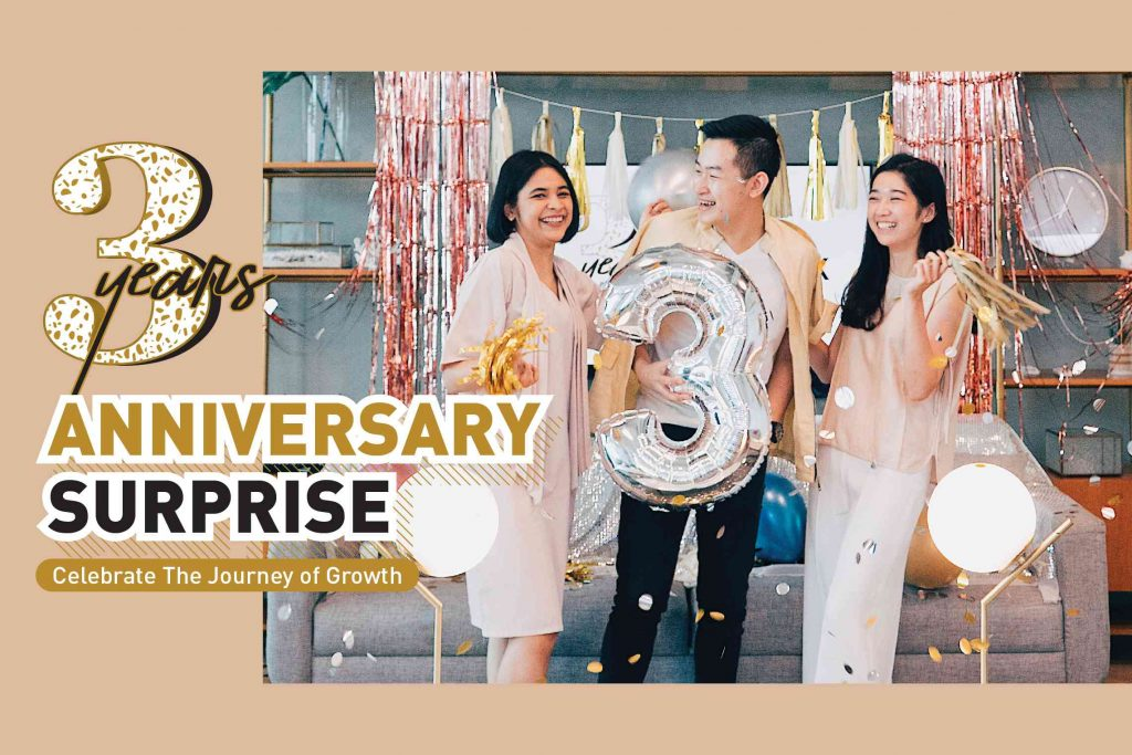 GoWork 3rd Anniversary Surprise